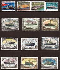 RUSSIE-URSS Bateaux de la marine marchande toutes époques    75T6