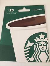 $25 Starbucks Giftcard