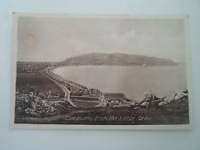 LLANDUDNO FROM THE LITTLE ORME -  Vintage Postcard §B571