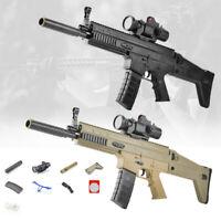 SCAR Sniping Rifle Toy Gun Gel Ball Blaster Water Bullet Bomb Toy Gun Shooting