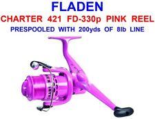 FLADEN CHARTER 421 FD-330 PINK REEL SEA GAME COARSE LRF LURE FISHING FIXED SPOOL