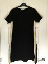 9cd12aa8a2 Ladies J S Millenium Black Knitted Stretchy Jumper Dress Suit Size 8-12