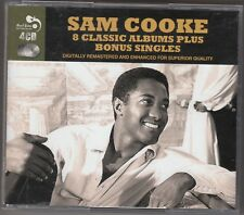 SAM COOKE - 8 classic albums plus bonus singles BOX 4 CD