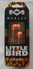 House of Marley EM-JE060-PK Little Bird In-Ear Silicone Headphones Orange NEW