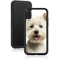 For Apple iPhone 11 X XS Max XR Shockproof Hard Case 869 Westie Highland Terrier