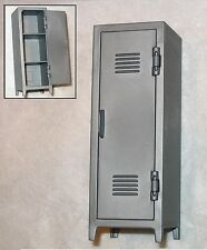"""LOCKER """"Wardrobe"""" w/ Working Door-1:18 Scale Accessory for 3-3/4"""" Action Figures"""