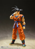 SHF S.H.Figuarts Dragon Ball Son Gokou A Saiyan Raised on Earth Action Figure