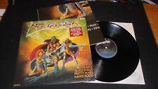 The New Gladiators CBS 1985 Lp vinyl +POSTER compilation PROMO quiet riot hanoi