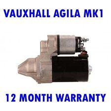 VAUXHALL AGILA MK1 MK I 1.0 1.2 2000 2001 2002 2003 - 2008 STARTER MOTOR