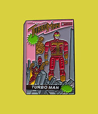 Turbo Man Enamel Pin   Jingle all the way Movie Pins Lapel Pin Turboman