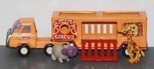 "Buddy L 10"" Circus Truck Orange"