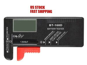 Digital Battery Tester Checker 1.5V And AA AAA Cell BT-168D LCD Power Measure