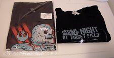 Star Wars Night at Target Field Twins XL- Toys R Us Star Wars L T-Shirt Giveaway