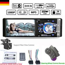 "4.1"" AUTORADIO BILDSCHIRM DISPLAY CAR RADIO PLAYER BLUETOOTH AUX USB 1DIN+REMOTE"