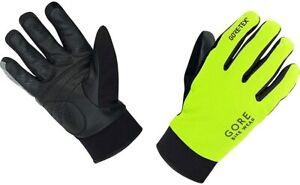 GORE WEAR Herren Handschuhe Universal Gore-Tex Thermo, Neon Yellow/Schwarz, 6 (S