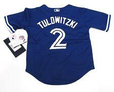 Toronto Blue Jays Toddler Kids 2T Jersey Cool Base Troy Tulowitzki Alternate 3rd