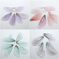 10pcs Butterfly Wings Pendant For DIY Craft Earring Jewelry Making Accessories