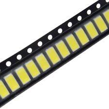 10 LED SMD 3528 PLCC4 2-CHIP BIANCO FREDDO WHITE 6000-7000K 3V