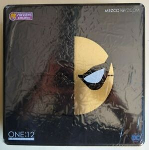 Mezco One:12 Collective Deathstroke PX Previews Exclusive Sealed