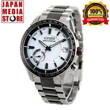 Citizen Attesa CC3085-51A Eco-Drive Satellite GPS Titanium Men`s Watch Japan