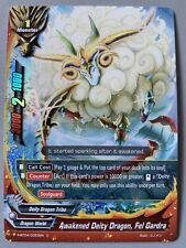 FUTURE CARD BUDDYFIGHT AWAKENED DEITY DRAGON FEL GARDRA S-BT04/0053EN C FOIL