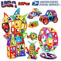 95Pcs/Set Magnetic Building Blocks Construction Children Toys Educational Block