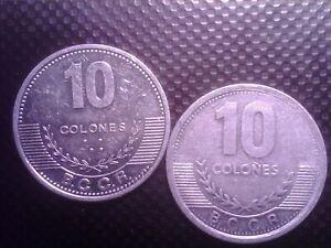 COSTA RICA   10 COLONES   2008 2012    SEP12F