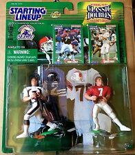 1998 John Elway Classic Doubles QB Club SLU w/ 2 Football Cards Broncos-Cardinal