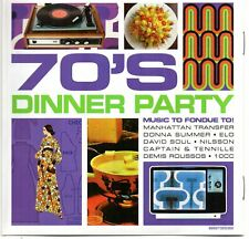 70's Dinner Party - Various Artists (CD 2008) Original CD