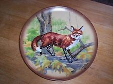 Retired Limited Edition Kaiser Red Fox Plate The Little Critters Series #550