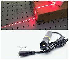 Precision Focusable 650nm 50mw Red Laser Module Line Positioning Light Emitter