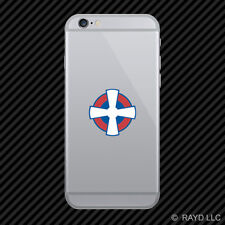 Serbian Air Force Roundel Cell Phone Sticker Mobile Serbia SRB RS