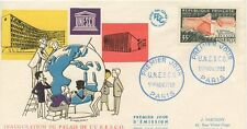 FIRST DAY COVER / PREMIER JOUR FRANCE / UNESCO 1958 PARIS