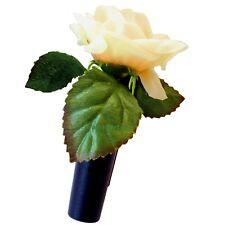 RICHTER / HR Auto Vase Blumenvase GELBE ROSE mit Befestigung / Halter