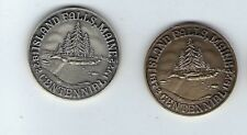 1972 Island Falls Maine 100 years Sterling Silver- Bronze