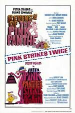 PINK PANTHER STRIKES AGAIN/REVENGE OF PINK PANTHER Movie POSTER 27x40 Peter