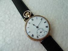 9k 375 Gold Glashutte System High Grede Armbanduhr nur voll erfüllt perfekte Arb