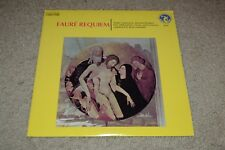 Faure Requiem~Nadine Sauterneau~Rene Leibowitz~1973 Classical~FAST SHIPPING!