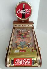 Coca Cola Collectors Pinball 1996 Issued By The Franklin Mint Used FOR REPAIR