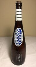 Vintage Limited Edition Coors Light 18 Oz Baseball Bat Bottles Empty With Cap