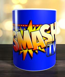 Smash TV retro arcade game Marquee Mug