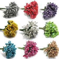 Babies Breath Flowers & Stems Artificial Gypsophil Fake Flower Pearl Spray Craft