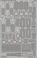 Eduard 1/200 Bismarck Alemán Battleship 1941 parte 1-botes de salvamento # 53080