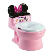 New listing Disney ImaginAction Minnie Mouse 2-in-1 Potty Training Toilet, Toddler Toilet