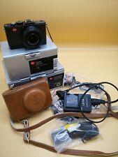 Leica D-LUX 6 12.7 MP Digitalkamera - Schwarz OVP Ledercase Zubehörpaket