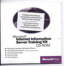 Microsoft Server Training Kit CD (with Windows NT server 4.0 120 day evaluation)