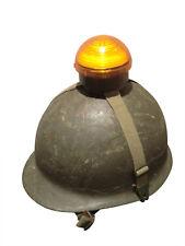 Bundeswehr Marschsicherungs Blinkleuchte Helmleuchte auch Reiterhelm geeignet