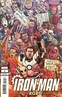 Iron Man 2020 #1 Party Variant Cover J | NM | Marvel Comics 2020