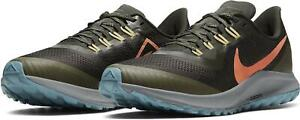 Nike Men's Air Zoom Pegasus 36 Trail Sequoia/Orange Trance AR5677 303