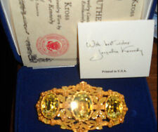 RARE Camrose & Kross Jacqueline Jackie Kennedy Empress Eugenie Brooch Pin
